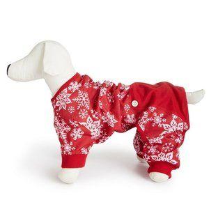 Macy's Other - Macys Family PJs Merry Pet Pajamas Snowflake 411